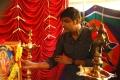 Actor Sathish @ Boomerang Movie Pooja Images