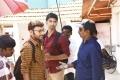 RJ Balaji, Atharva, Kannan @ Boomerang Movie Working Stills