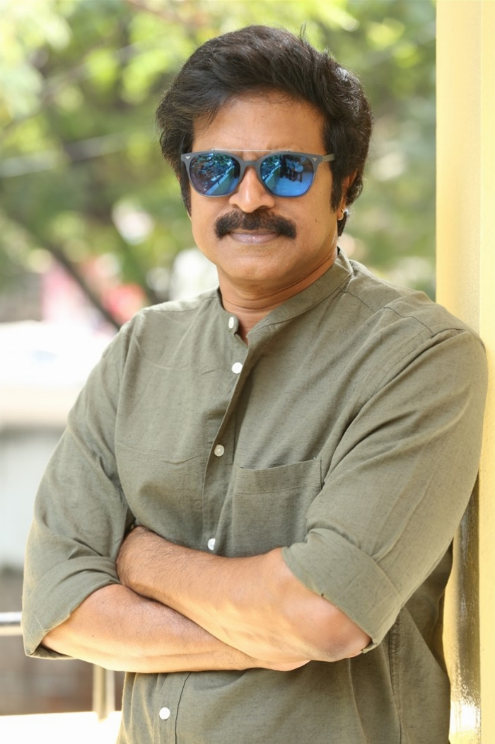 Next Nuvve Movie Actor Brahmaji Interview Photos