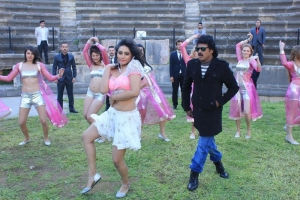 Ragini Dwivedi, Upendra in Brahmana Telugu Movie Stills