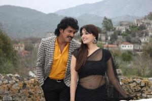 Upendra, Saloni Aswani in Brahmana Telugu Movie Stills