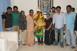 Brahmanandam felicitated Comedian Ali Photos