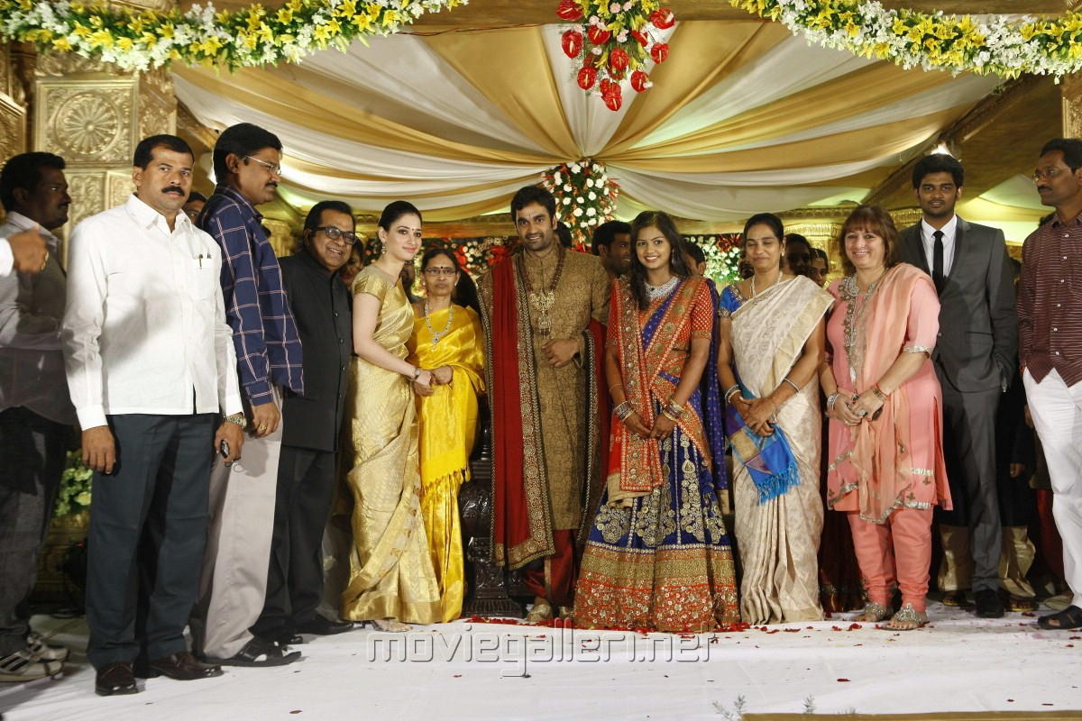 picture 332455 actress tamanna at brahmanandam son
