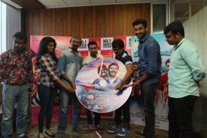 Tanya, Radha Mohan, Vishal Chandrasekhar, Vivek, Arulnithi @ Brindavanam Audio Launch at Suryan FM Stills