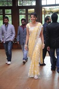 Telugu Acterss Kajal in Saree Stills