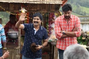 Vivek, Arulnithi in Brindavanam Movie Stills