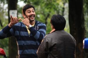 Arulnithi, Vivek in Brindavanam Movie Stills