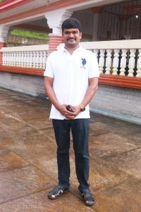 Cell Murugan @ Brindhavanam Movie Poojai Stills