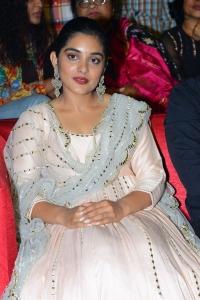 Actress Nivetha Thomas @ Brochevarevarura Pre Release Event Stills