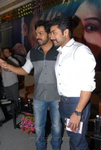 Karthi, Surya at Brothers Movie Audio Release Function Photos
