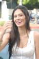 Bruna Abdullah Spicy Pics in White Dress