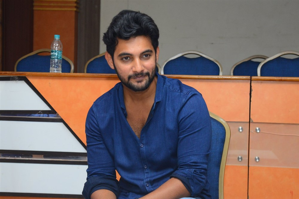 Burra Katha Movie Hero Aadi interview Stills
