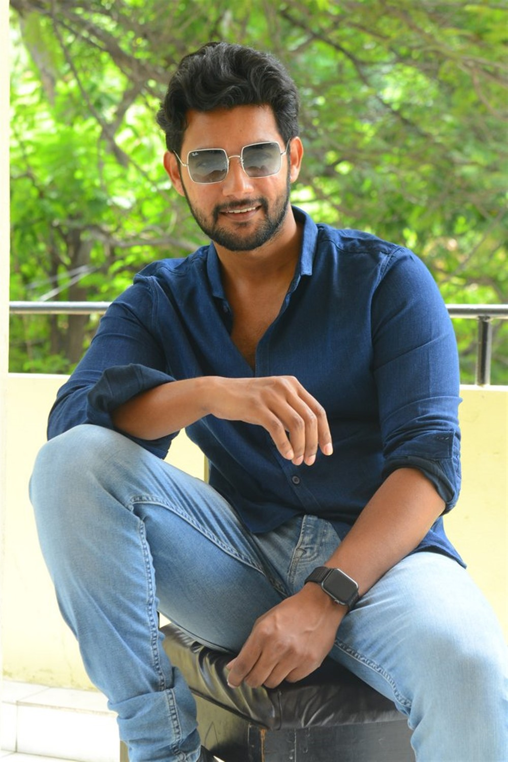 Burra Katha Movie Hero Aadi Saikumar interview Stills