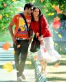 Prince, Sri Divya in Bus Stop Telugu Movie Stills