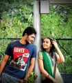 Prince & Sri Divya in Bus Stop Telugu Movie Stills