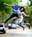 Prince, Sri Divya in Bus Stop Telugu Movie Photos