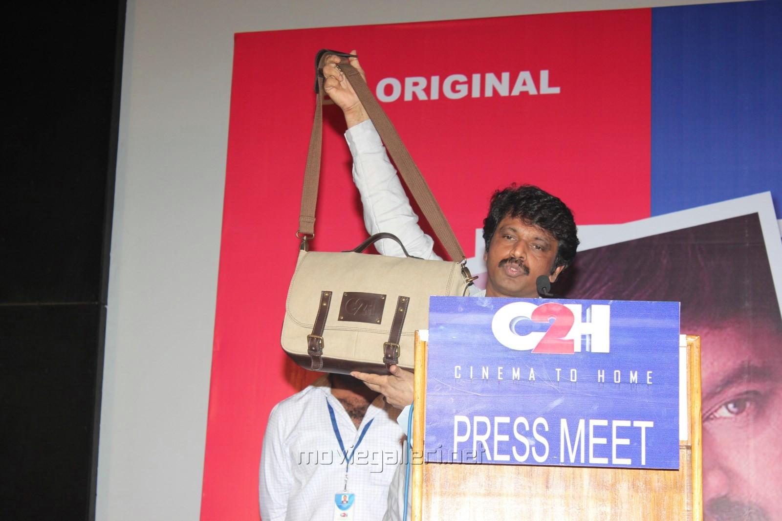 cheran director press meet