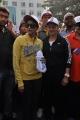 Lakshmi Manchu, Sania Mirza at Cancer Awareness Walk 2013 Hyderabad Photos