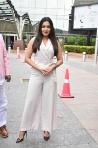 Actress Catherine Teresa launches Limousine Cabs Hyderabad