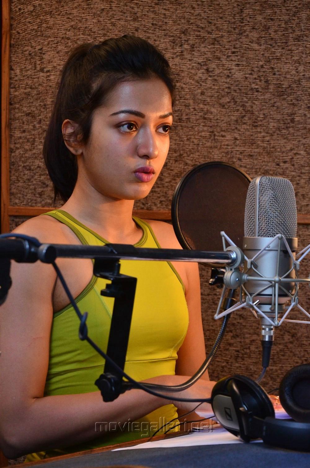 Actress Catherine Tresa self dubbing for Gautham Nanda Photos