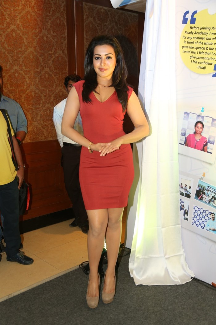 Catherine Tresa @ Rin Career Ready Academy Program Press Meet Stills