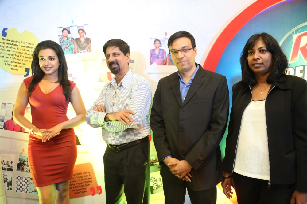 Rin Career Ready Academy Program Press Meet with Actress Catherine Tresa