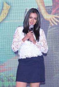 Actress Catherine Tresa Photos @ Sarrainodu Success Meet