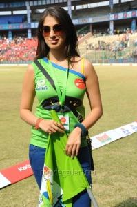 Lakshmi Rai in CCL 2 Match Pics