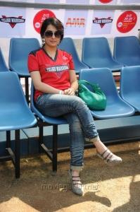 Archana Veda @ Telugu Warriors Vs Kerala Strikers CCL 2 Match Stills