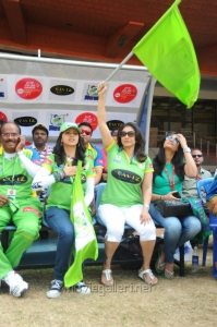 Bhavana @ Telugu Warriors Vs Kerala Strikers CCL 2 Match Stills