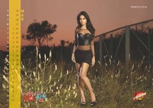 March 2012 Sameera Reddy Hot CCL Calendar Stills