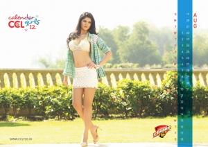 August 2012 Deeksha Seth Hot CCL Calendar Stills