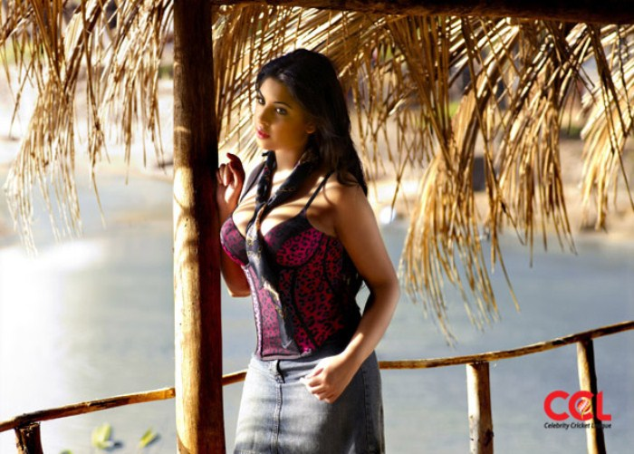 Richa Gangopadhyay Hot In Ccl Images & Pictures - Becuo