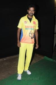 Vikranth at CCL 3 Chennai Rhinos Vs Karnataka Bulldozers Match Photos