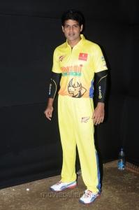 Shaam at CCL 3 Chennai Rhinos Vs Karnataka Bulldozers Match Photos