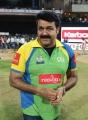 Mohanlal at CCL 3 Final Telugu Warriors Vs Karnataka Bulldozers Match Photos