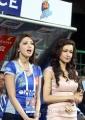 Pranitha, Madhuri Bhattacharya at CCL 3 Final Telugu Warriors Vs Karnataka Bulldozers Match Photos