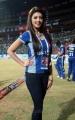 Pranitha at CCL 3 Final Telugu Warriors Vs Karnataka Bulldozers Match Photos