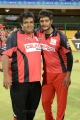 Vanka Pratap, Prince at CCL 3 Final Telugu Warriors Vs Karnataka Bulldozers Match Photos