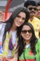 Actress Bhavana at CCL 3 Kerala Strikers Vs Bhojpuri Dabanggs Match Photos