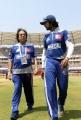 Ashok Kheny, Sudeep at CCL 3 Semi Final Kerala Strikers Vs Karnataka Bulldozers Match Photos