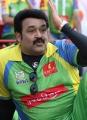 Mohanlal at CCL 3 Semi Final Kerala Strikers Vs Karnataka Bulldozers Match Photos