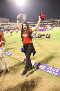 Actress Charmi at CCL 3 Telugu Warriors Vs Mumbai Heroes Match Photos