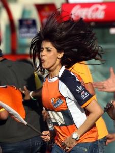 Genelia at CCL 3 Veer Marathi Vs Bengal Tigers Match Photos