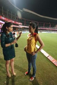 Trisha @ CCL 4 Chennai Rhinos Vs Karnataka Bulldozers Match Photos