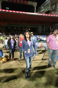 Priyamani @ CCL 4 Chennai Rhinos Vs Karnataka Bulldozers Match Photos