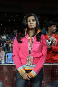 Priyamani @ CCL 4 Karnataka Bulldozers vs Bengal Tigers Match Photos