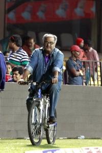 Boney Kapoor @ CCL 4 Karnataka Bulldozers vs Bengal Tigers Match Photos