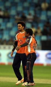 Ritesh Deshmukh @ CCL 4 Kerala Strikers Vs Veer Marathi Match Photos