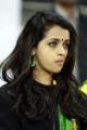 Actress Bhavana @ CCL 4 Kerala Strikers Vs Veer Marathi Match Photos